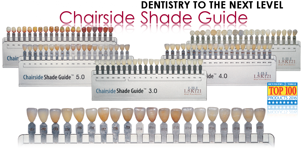 Ceramic Chairside Shade Guide
